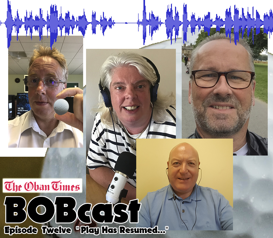 """BOBcast Podcast Episode 12 """"Play Has Resumed"""""""