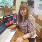 Dawn MacPhie, pictured, has staged quizzes to raise money to jelp the local pool and leisure centre. NO F32 Dawn MacPhie