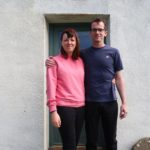 Anna Rothach, originally from Corpach, and her fiance Martin Merrick feature in the documentary about Canna. NO F32 Midas Media_Summer on Canna_Anna Rothach(l) & Martin Merrick(r) 1