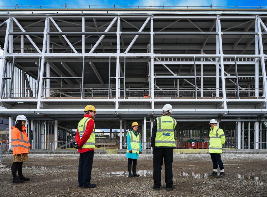 Skye MSP visits island's new hospital site