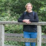 Sarah Badman-Flook is one of those sharing her memories of the West Highland Way. NO F33 Sarah Badman-Flook