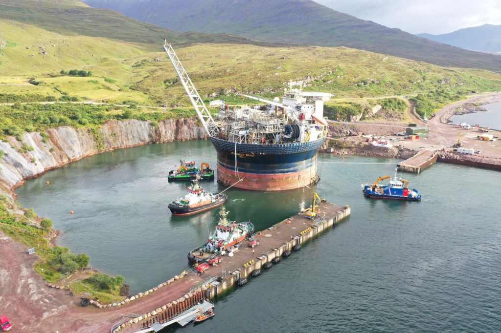 New project at Kishorn Port and Dry Dock
