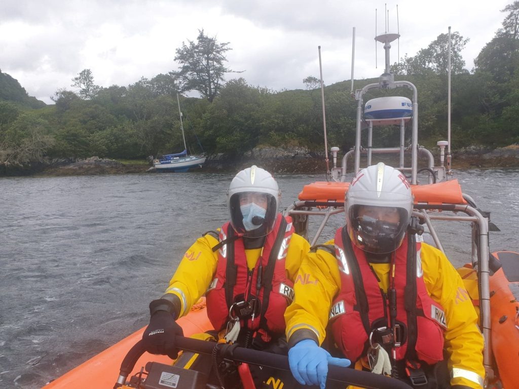 Kyle RNLI called to yacht aground near Eilean Donan Castle