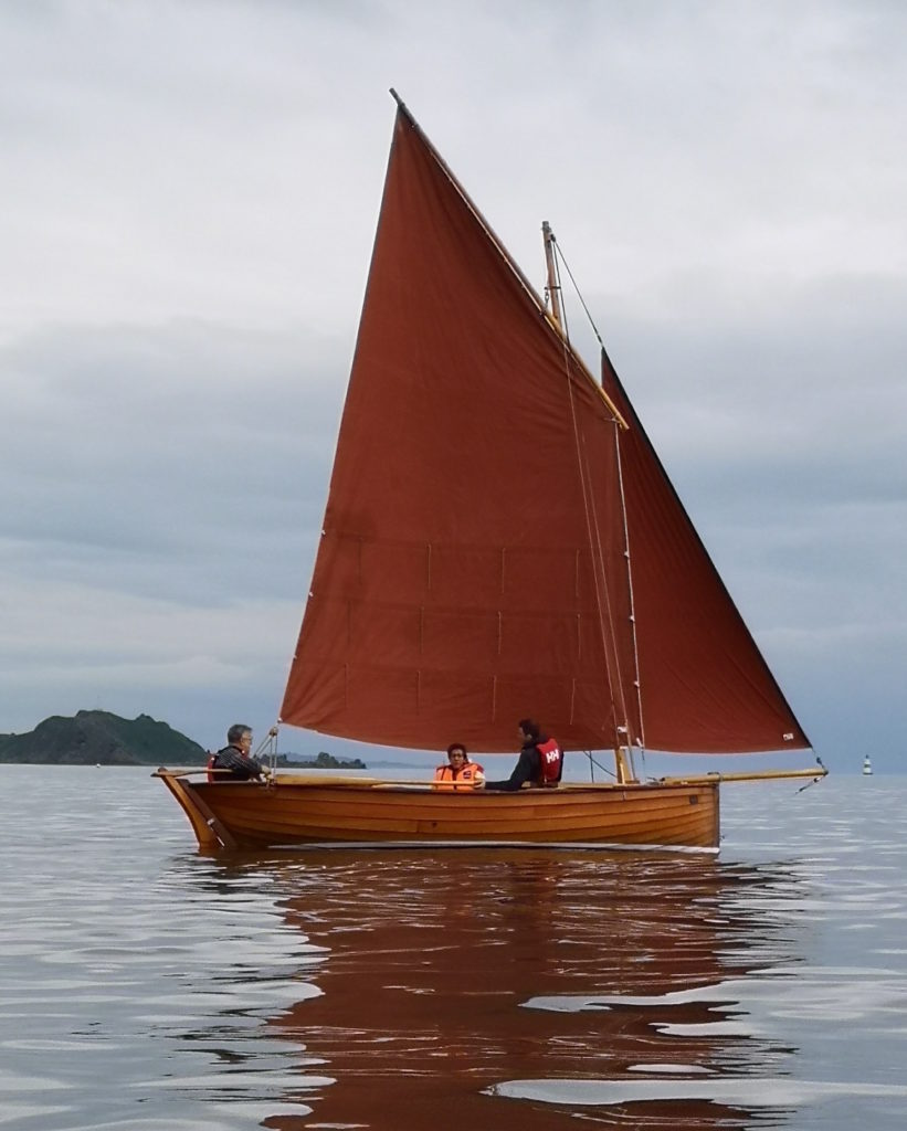 Traditional Oban Skiff is oarsome