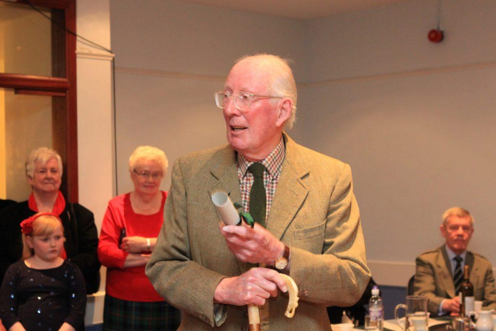 Blackmount Estate owner Robin Fleming remembered