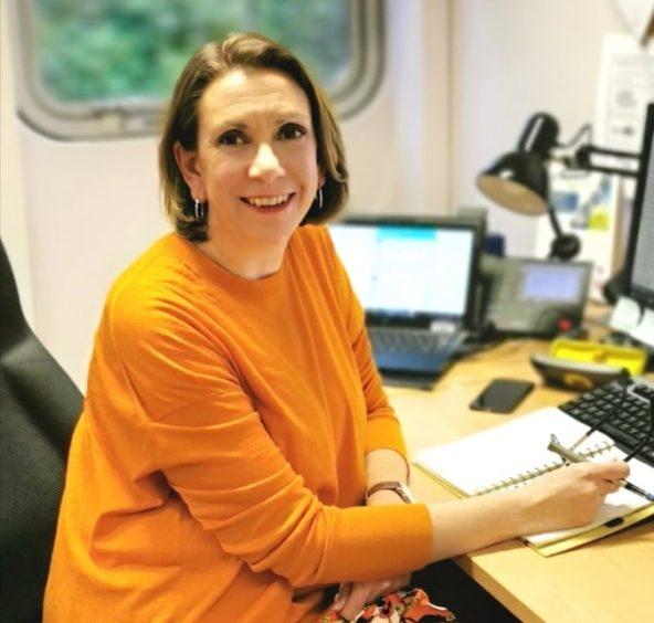 Pippa Milne takes up her new post in December.