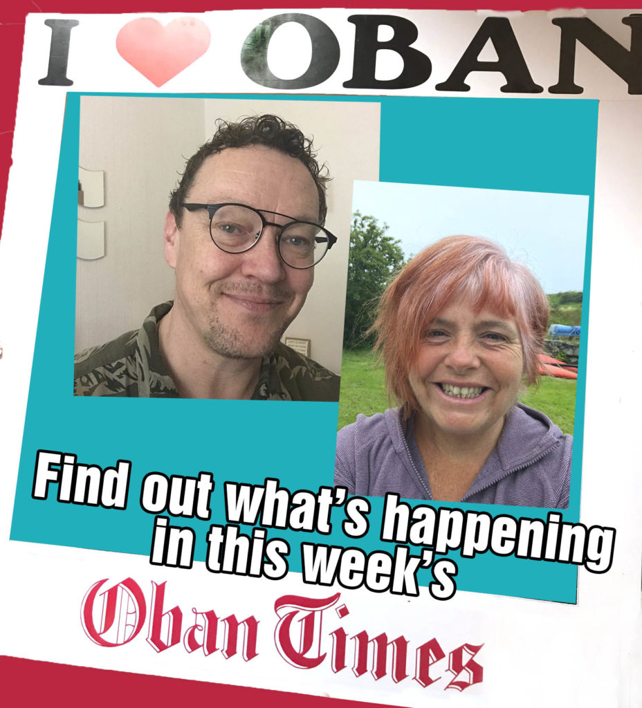What's in This Week's Oban Times 12th August 2020