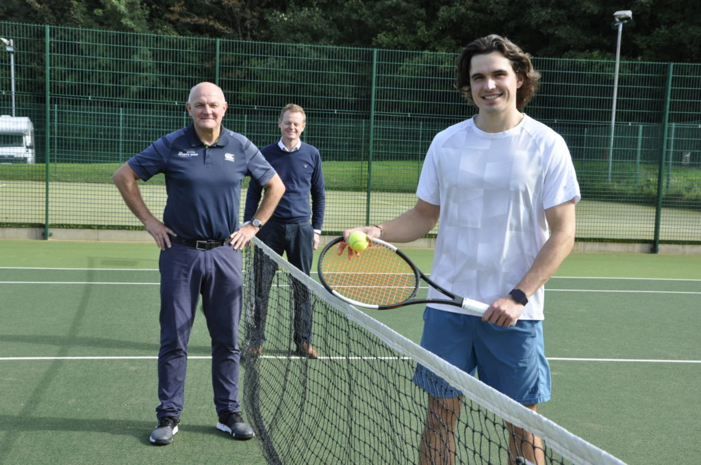 Tennis ace Gregor makes timely return