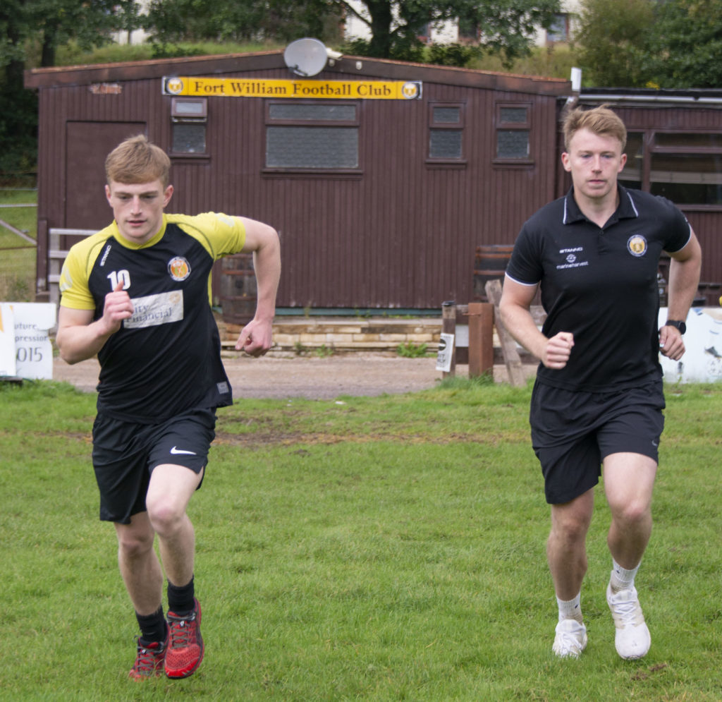 Fort FC players get back to regular training after lockdown
