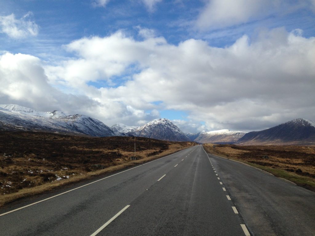 The group was planning five days of activities in the Glencoe area, pictured, later this month. NO F15 Glencoe