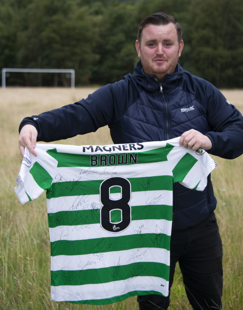 Celtic shirt boost for Kinlochleven football