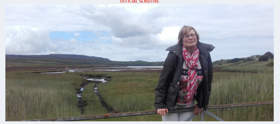 Skye resident Caroline Hunt, pictured, has not been seen since August 11. NO F37 Caroline Hunt