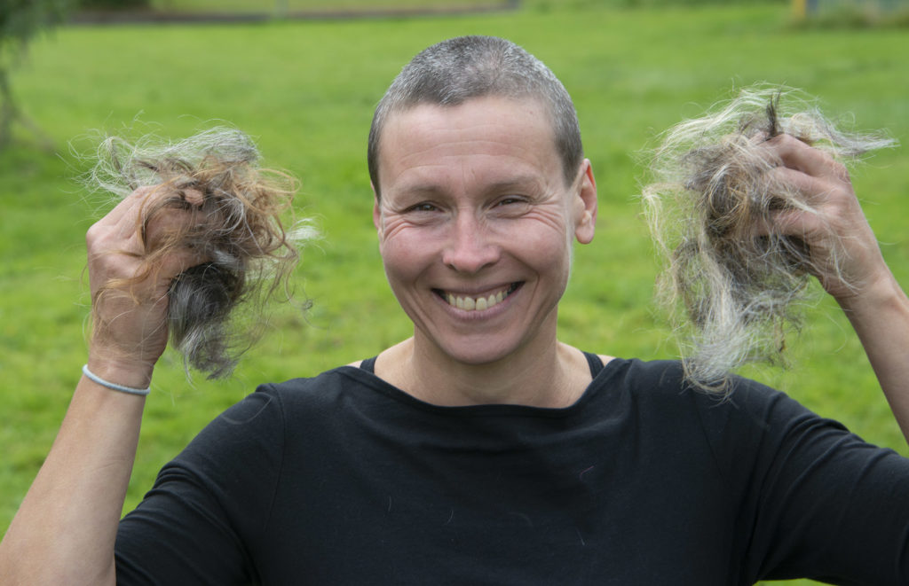 Susan's hair loss is Lochaber MindFit's gain as she raises cash for local group