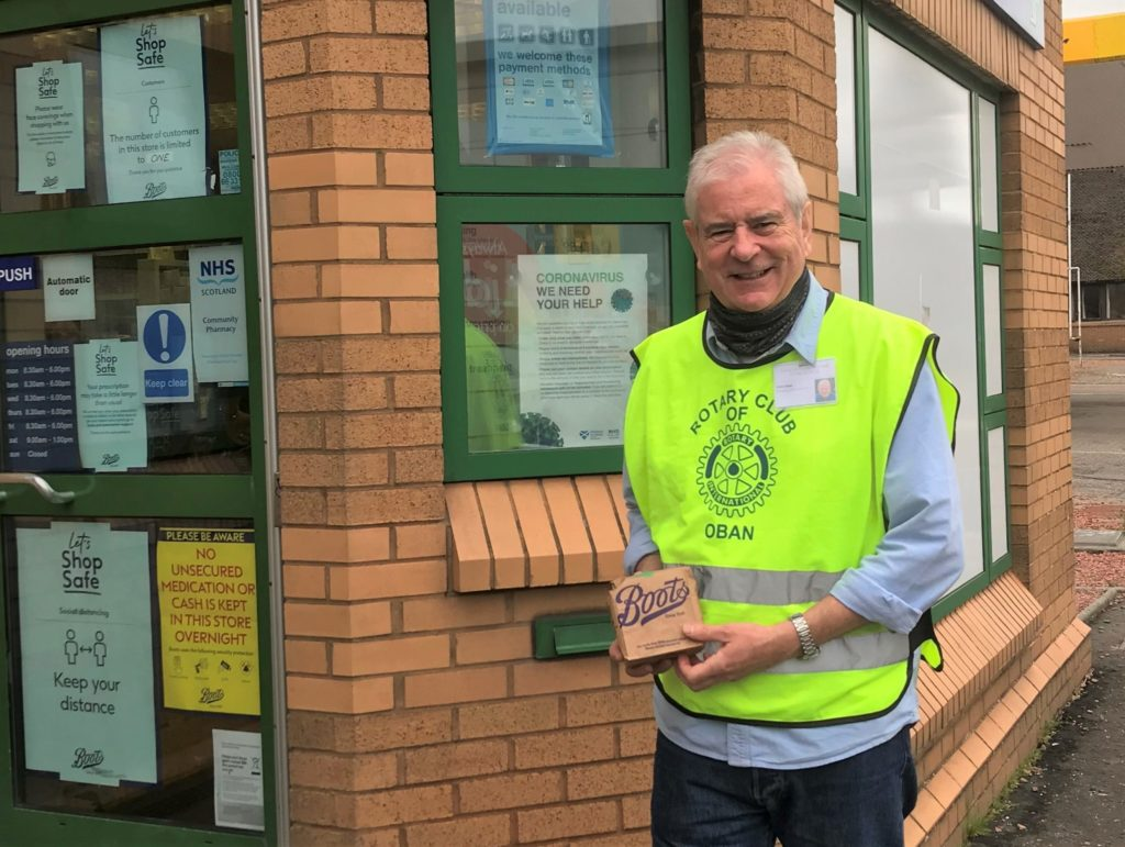 3,300 miles to help vulnerable in community