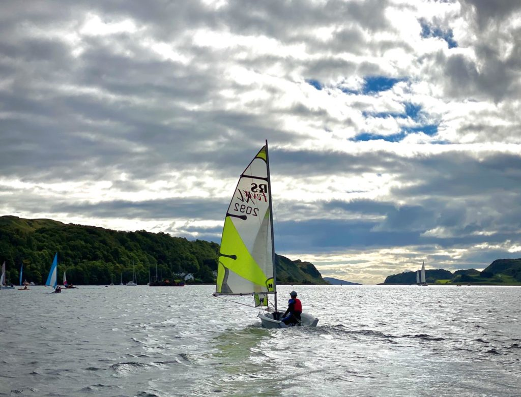 Oban Sailing Club has 'shore' way of getting back on the water