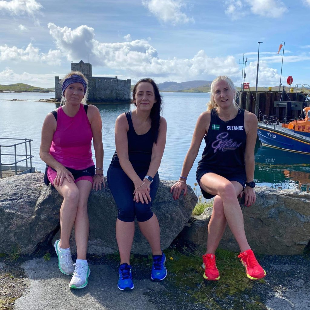 Team Eilidh set the pace for virtual challenge