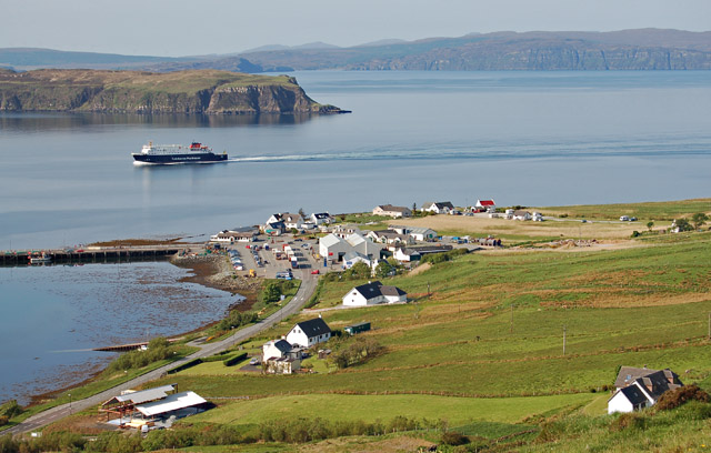 Uig Pier linkspan plans shelved