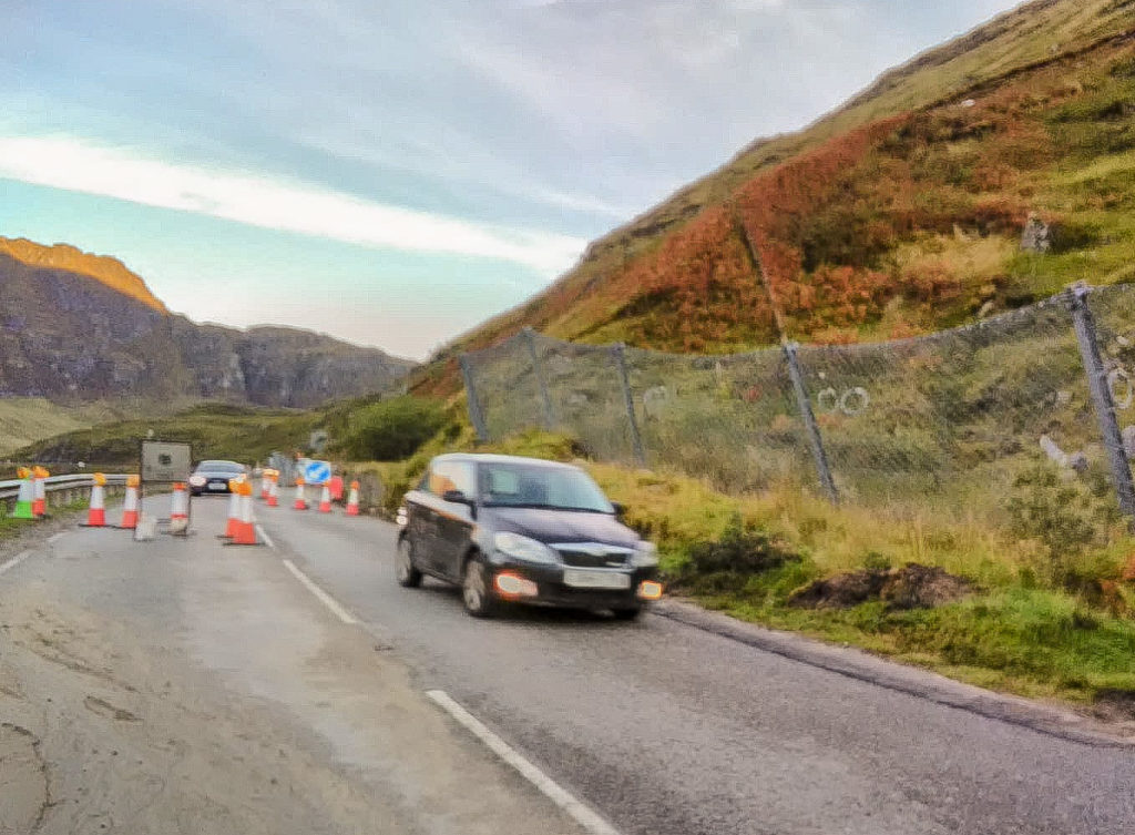 A83 is open again after latest slide