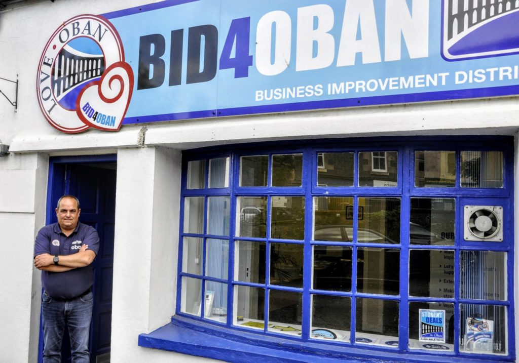 £63K town boost delights Oban business group