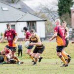Lochaber vs Deeside rugby. Abrightside Photography. F14Rugby5noJP