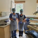 PPE is now the order of the day at Clyde Munro's M&S Dental Care in Fort William. NO F22 Dental staff in PPE