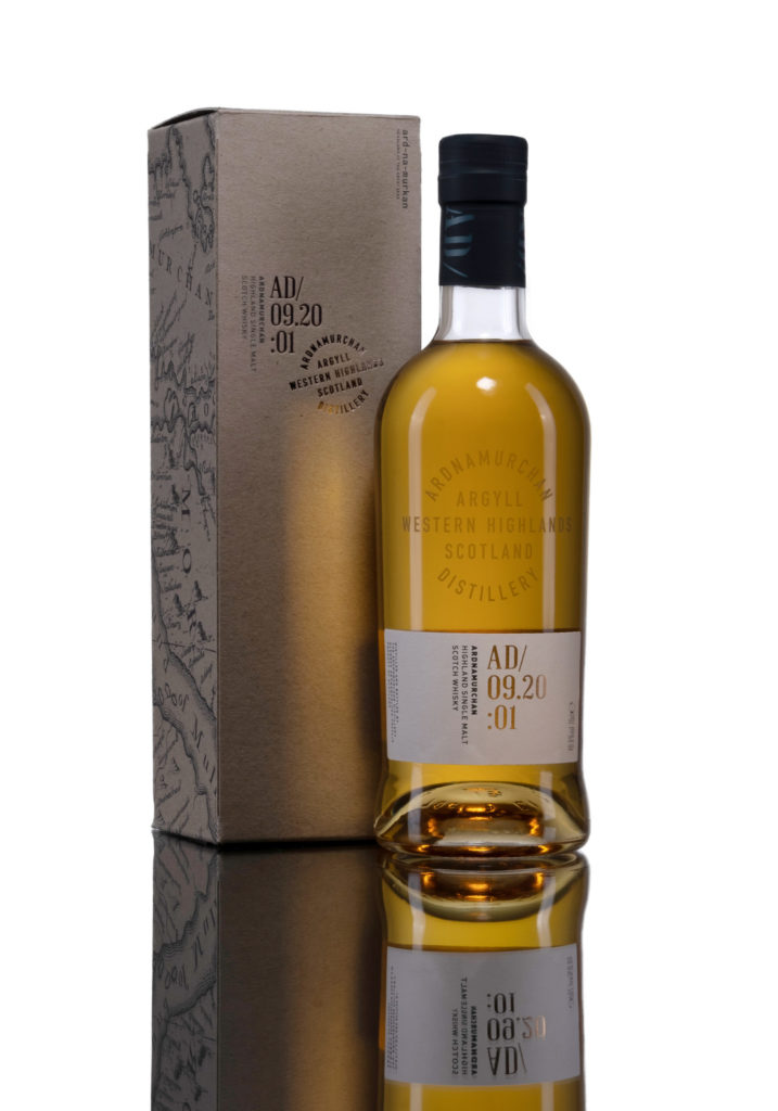 Ardnamurchan Distllery's new single malt goes on sale next week. Photograph: Tina Norris Photography 2020. Contact Tina on 07775 593 830 www.tinanorris NO F40 Ardnamurchan+box_2