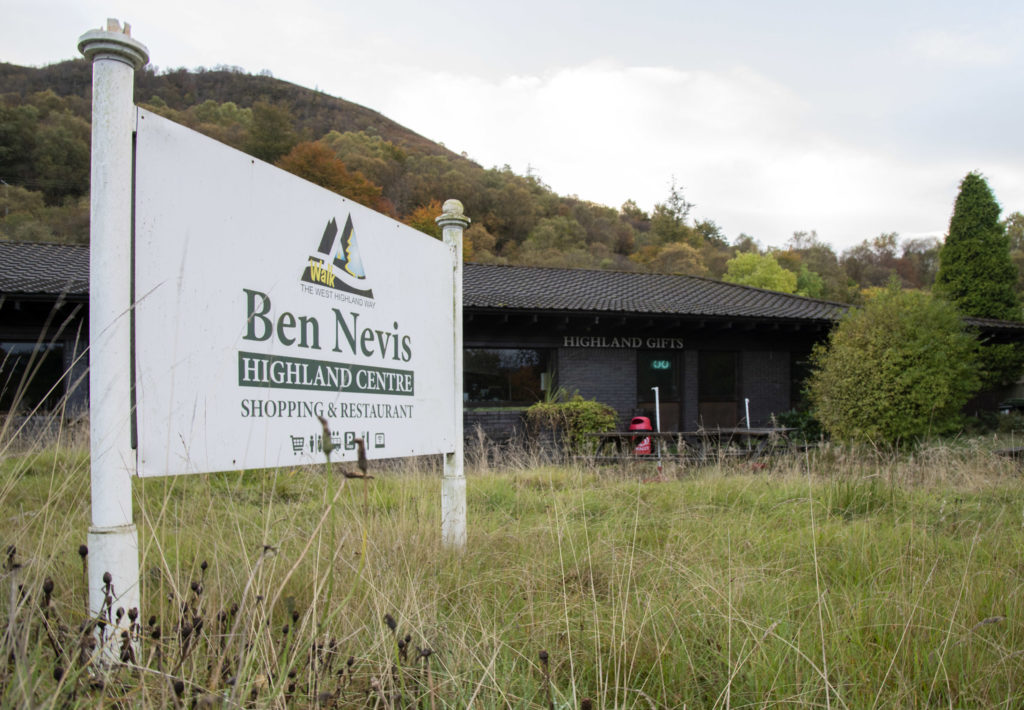 The Ben Nevis Highland Centre in Fort William is one of the branches of Edinburgh Woollen Mill now under threat. Photograph: Iain Ferguson, alba.photos NO-F42-Ben-Nevis-Woollen-Mill-01-scaled.jpg