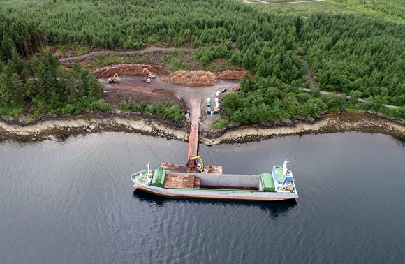Timber transport partnership funding to benefit Morvern