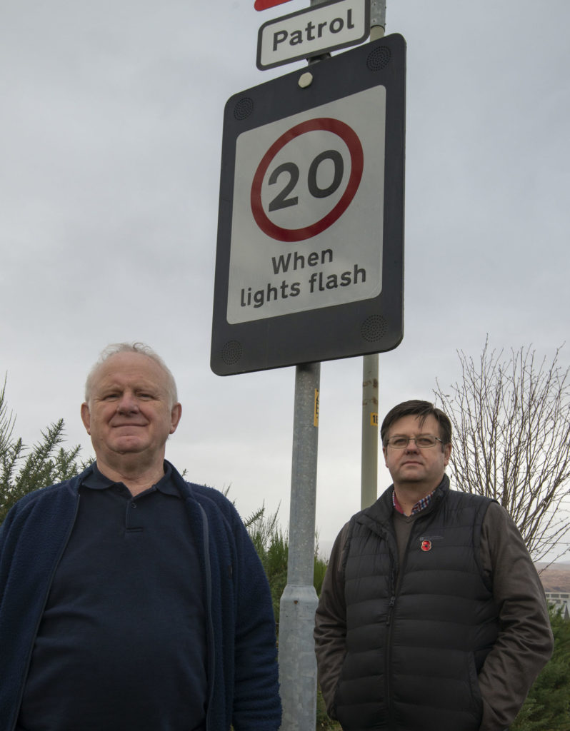 Livid Baxter sees red over inoperable school speed warning signs