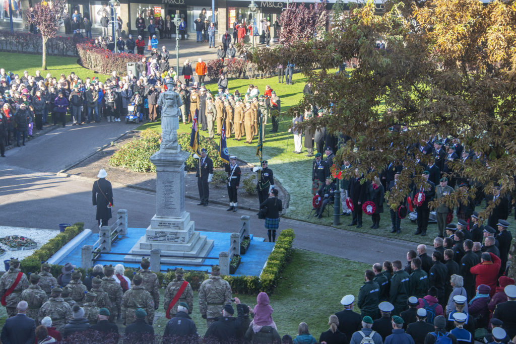 Covid sees cancellation of Fort William Remembrance events