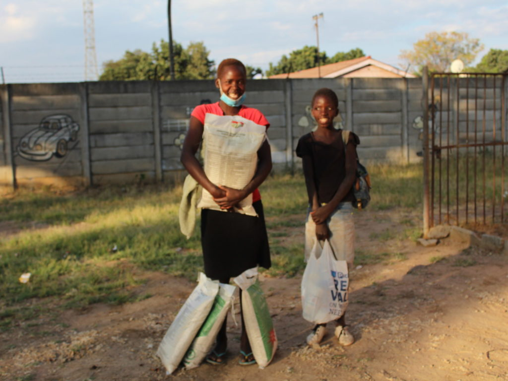 Mary's Meals feeds children facing hunger crisis in Zimbabwe
