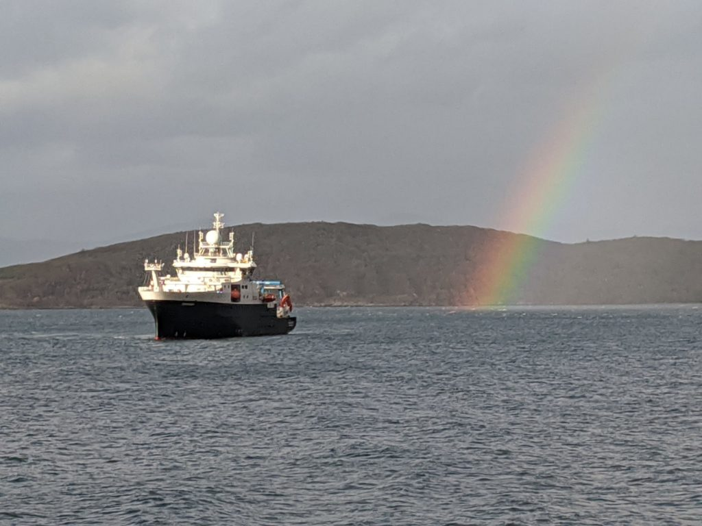 Research ship returns with vital climate change data