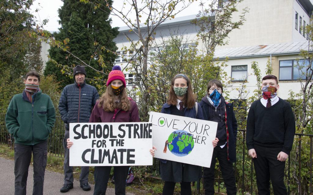 Striking students take global stance