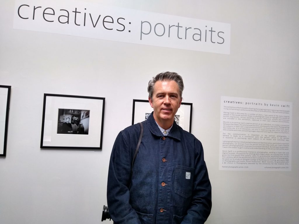 Creatives: Portraits by Kevin Swift