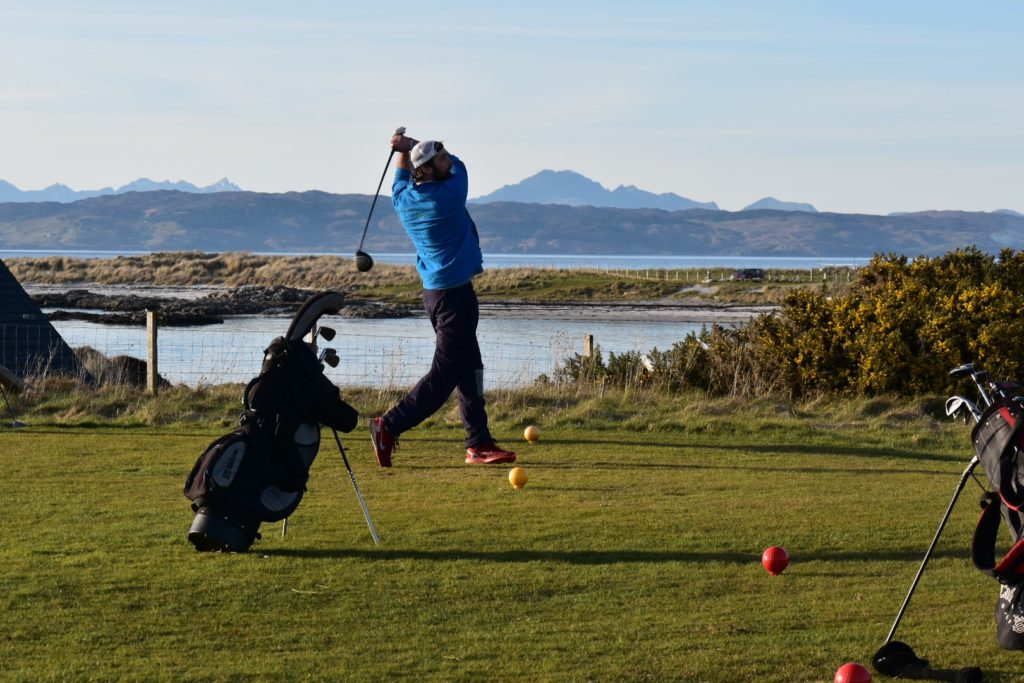 Mull golf venue reaches new heights