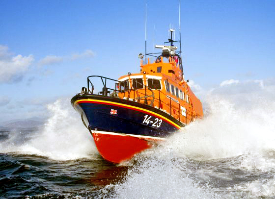 Seafood recipes rescue lifeboat fundraiser