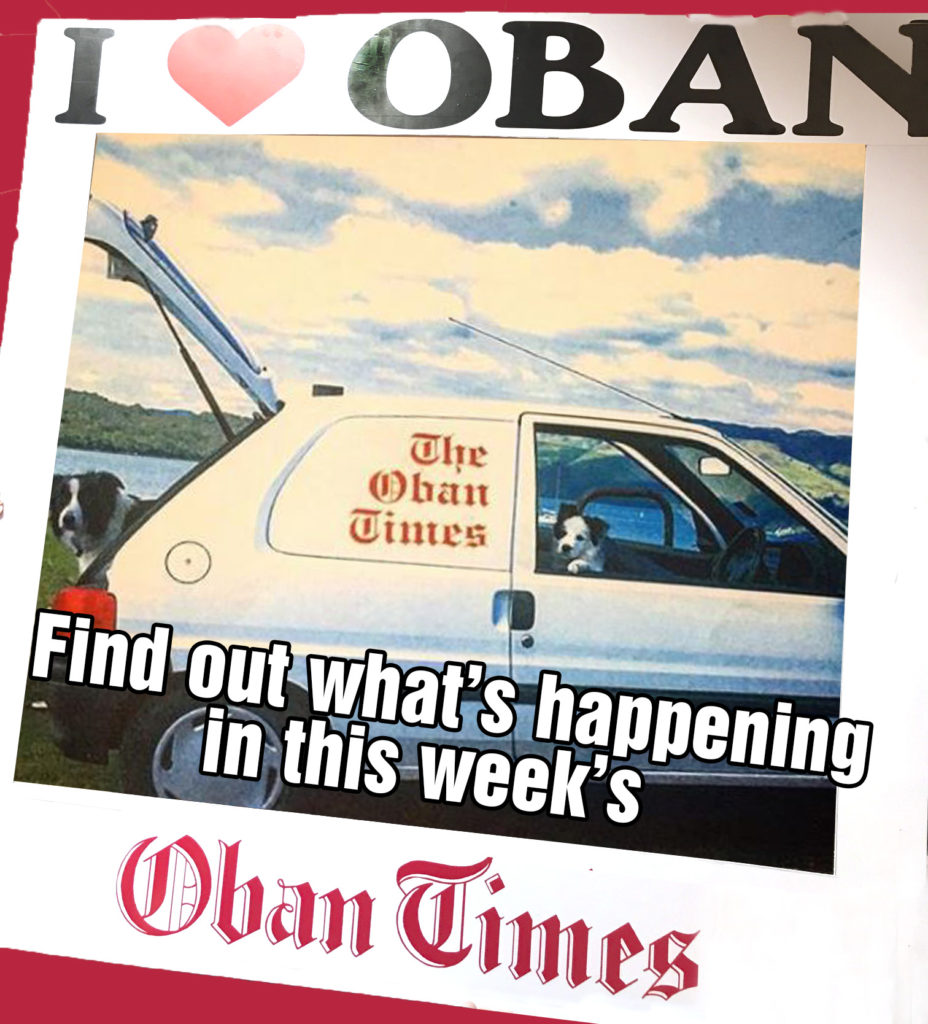 What's in This Week's Oban Times 7th October 2020