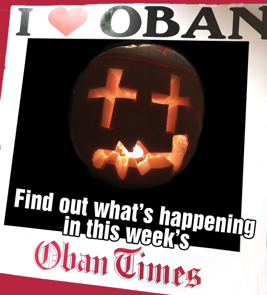 What's in This Week's Oban Times 28th October 2020