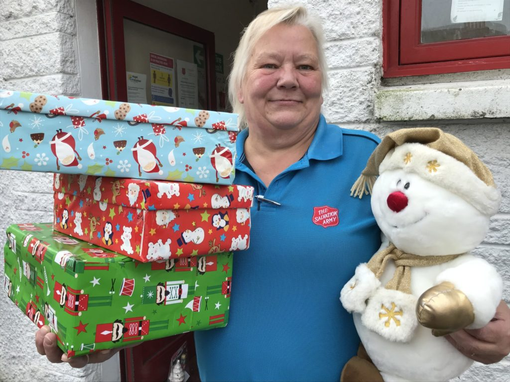 Christmas starts early for gift appeal