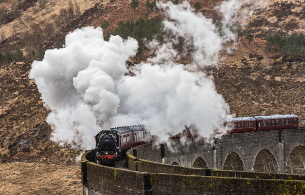 Jacobite steam train finishes a week early due to Covid situation