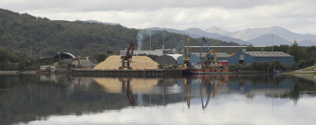 Kilmallie and Ardgour councils seek meeting over Corpach port upgrades proposal