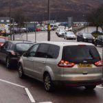 Each year, there is a reducing pot of money to find solutions for tourist congestion and traffic management in places like Fort William (pictured). Photograph: Iain Ferguson, The Write Image. NO F43 traffic chaos in FW