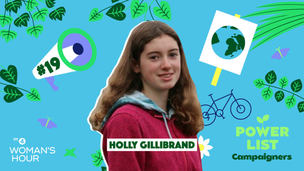 Holly Gillibrand, pictured, will be interviewed on today's (Thursday) edition of Woman's Hour. NO F47 woman hour