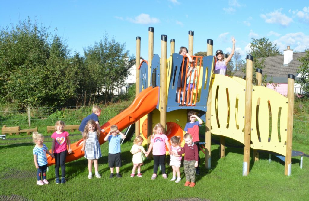 Community joy at opening of new playpark