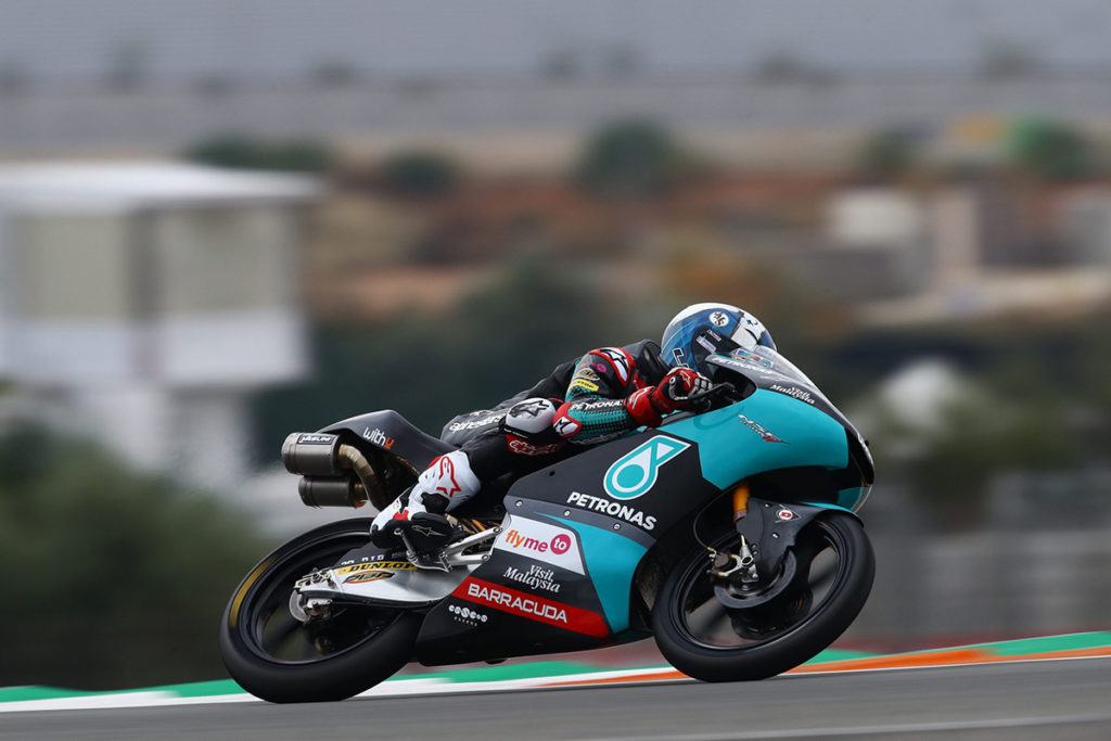 McPhee finished 11th in Valencia Grand Prix