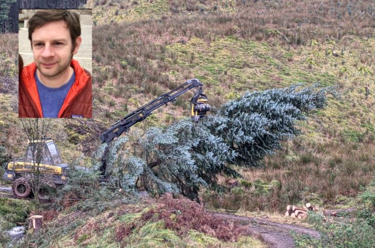 The touching story behind Oban's Christmas Tree