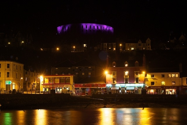 McCaig's Tower to reign purple on Thursday