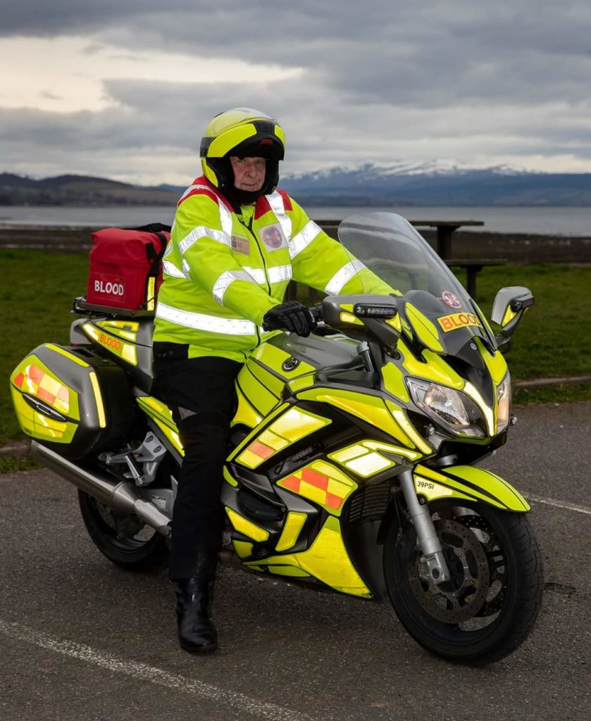 Blood Bike pilot is hailed as a huge success