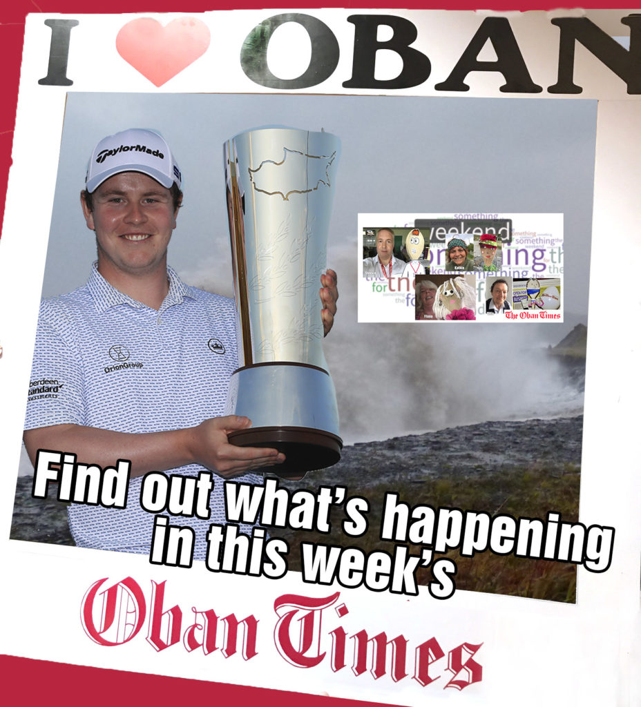 What's in This Week's Oban Times 11th November 2020