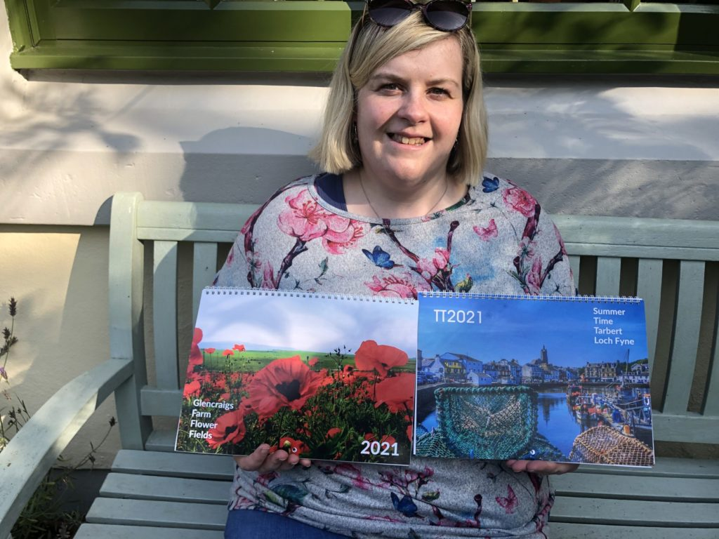 Aileen's colourful calendars boost charities
